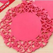 small Silicone Heat Insulation Coasters Mat Resistant Pad Non-Slip Cup ==#-