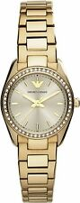 Emporio Armani AR6031 Women's Sportivo Gold Tone Stainless Gold Dial Watch