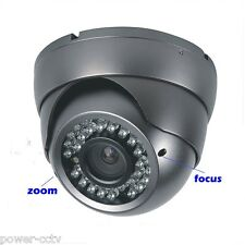 "Amview 1300TVL 1.3MP 1/3"" SONY CCD 36IR 2.8~12mm Vari-Focal Dome Security Camera"