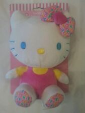 Hello Kitty Cuddle Friend Baby New Soft Plush Toy Birth+ Pink Bow NWT