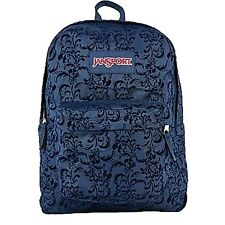 100% Authentic JanSport High Stakes Navy Splendid Fly Flock School Backpack