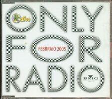 Only For Radio Febbraio 2005 - Britney Spears/Le Vibrazioni/Fiorello Cd Perfetto