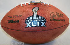 SUPER BOWL 49 XLIX Wilson Official Football (PATRIOTS SEAHAWKS )