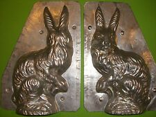 Antique Chocolate Mold Candy Mold Rabbit Metal Mold BIG BUNNY RARE JUST REDUCED