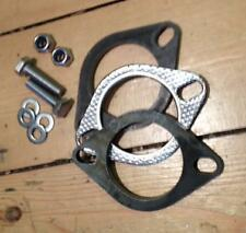 "2 1/2"", 63mm Mild Steel Exhaust Flange Kit, Gaskets, M10 Nuts & Bolts"