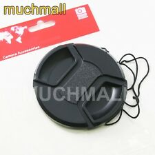 62mm 62 mm Center Pinch Snap On Front Lens Cap Cover for Canon Nikon Sony camera