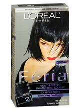 L'Oreal Fria - 21 Starry Night (Bright Black) (Cooler) 1 Each