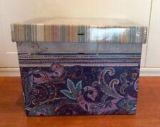 Bassetti 2x Geschenkkarton von Plaid Misty blau Geschenkbox Aufbewahrungsbox
