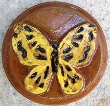 Butterfly 5 plaque, stepping stone,  plastic mold, concrete mold, plaster