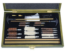 New 24 Piece MULTI GUN CLEANING KIT - WW2 Repro Army Brush Rod Mop Handle Set