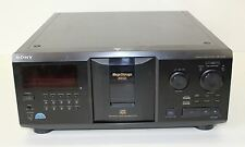 SONY cdp-cx355 MEGA Storage 300 DISC CD CD-R / CD-RW Player JUKE-BOX OTTICO OUT