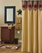 """Country Primitive """"MY COUNTRY HOME"""" Shower Curtain"""
