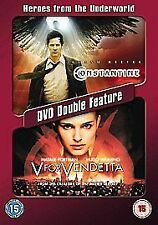 Heroes From The Underworld - Constantine/V For Vendetta (DVD, 2006, 2-Disc Set)