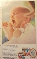 "1963 Gerber Baby Food ""Good Housekeeping"" Magazine Advertisement"