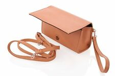 Eye Pockit Multi-Purpose Clutch, Glasses Case, RFID Wallet+Phone combo - Camel