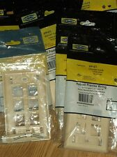 12 HUBBELL I-STATION PLATE 1 GANG/6 PORT TELCO IVORY  IFP16TI--NEW!