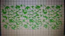 "22""x10"" woodland rifle camo  DIY duracoat paint gun stickers vinyl decals"