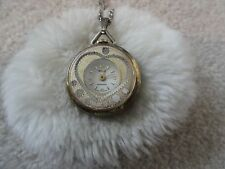 Swiss Made Webster Anti Magnetic Wind Up Vintage Necklace Pendant Watch