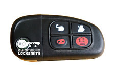 used Jaguar X-Type 4 button remote flip key fob 1X43-15K601-BG