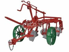 OLIVER 3 BOTTOM PLOW MASTER ON STEEL WHEELS 1/16 BY SPECCAST SCT395