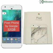 "NEW 5"" INCH GOOGLE PIXEL PHONE G-2PW2200 32GB SILVER FACTORY UNLOCKED 4G SIMFREE"
