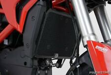 R&G RED RADIATOR GUARD for DUCATI HYPERMOTARD 820, 2013 to 2015