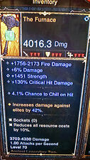 DIABLO 3 ANCIENT THE FURNACE 2 handed mace xbox one legendary item