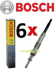 SET OF 6X BOSCH DURATHERM GLOW PLUG PLUGS BMW E60 525 530 535 E90 E46 325 330 D