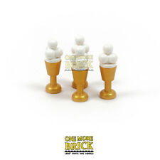 LEGO Ice Creams with Cones / Glasses / Goblets - Pack of four NEW