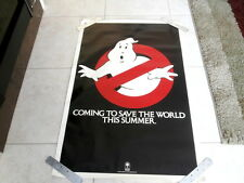 GHOSTBUSTERS~ ORIG.~ RARE~ NEAR MINT~ IN DEMAND NOW~ 27 X41 ~ PROMO POSTER