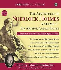 The Adventures of Sherlock Holmes, Volume 1 A CSA Word Classic)