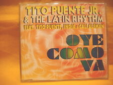 MAXI Single CD TITO PUENTE JR. & THE LATIN RHYTHM Oye Como Va 6TR 1995 house