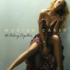 FREE US SH (int'l sh=$0-$3) NEW CD Mariah Carey: We Belong Together Single, Impo