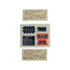 DECAL SET 8N FORD TRACTORS 1947 - 1949 (8N4749D)