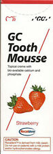 GC Tooth Mousse 1x 40g (35ml.) Recaldent -Erdbeere- Geschmack