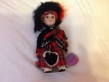 "9"" LEONARDO COLLECTION PORCELAIN DOLL THE PIPER WITH BOX"