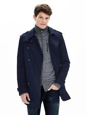 BANANA REPUBLIC MENS $250. DOUBLE BREASTED TRENCHCOAT TRENCH COAT S M L XL XXL T