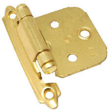Amerock BP7139BB Polished Brass Variable Overlay Self Closing Hinges (pairs)