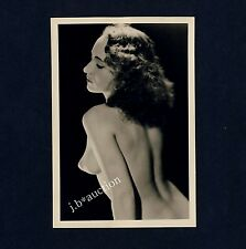 #420 RÖSSLER AKTFOTO / NUDE WOMAN STUDY * Vintage 1950s Studio Photo - no PC !