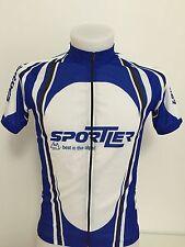 maglia ciclismo Sportler alps zip intera tg.S shirt maillot trikot cycle BC125