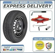 VW UP!, SKODA CITYGO,SEAT Mii  FULL SIZE STEEL SPARE WHEEL 175/65R14 TYRE  TOOLS
