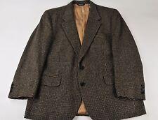 Burberrys' Multi-Color Plaid 100% Camel Hair Sport Coat Jacket 46R
