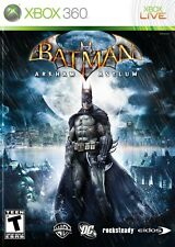 BATMAN ARKHAM ASYLUM XBOX 360  VERY GOOD CONDITION