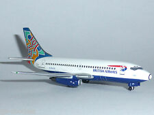 Boeing 737-200 British Airways Ireland Colum Model Scale 1:400 AV4732002 G-BGDR