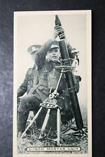 British Army   3 Inch Mortar Team   1930's Photo Card  VGC