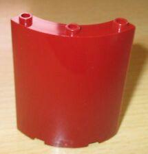 Lego - 1x Paneele Dunkel Rot gewölbt,rund 4x4x6 selten 46361