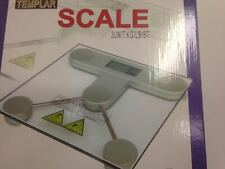 DIGITAL ELECTRONIC LCD BATHROOM WEIGHING SCALE GLASS WEIGHT SCALES