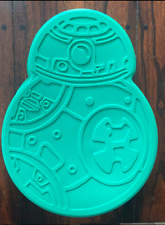 STAR WARS BB-8 BB8 DROID SILICONE BIRTHDAY CAKE PAN MOLD