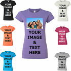 Ladies Photo T-Shirt,Personalised Tshirt,Printed Tshirt Printing,Birthday,Hen Do