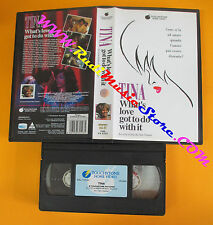 VHS TINA TURNER What's love got to do with it 1994 TOUCHSTONE no cd lp dvd(VM10)